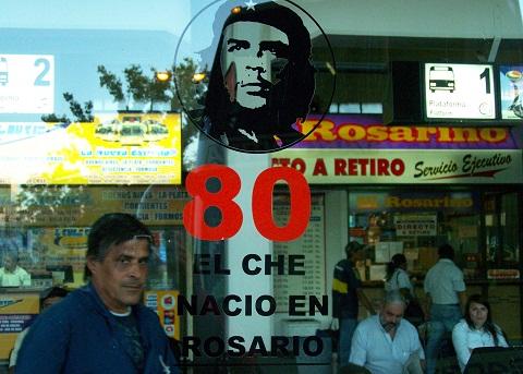 El Che nacio en Rosario! Imagem: Fábio Brito (Arquivo Jeguiando)