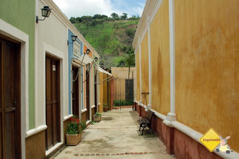 O colorido vivo dos casarões de São Luiz do Paraitinga. Imagem: Erik Pzado.