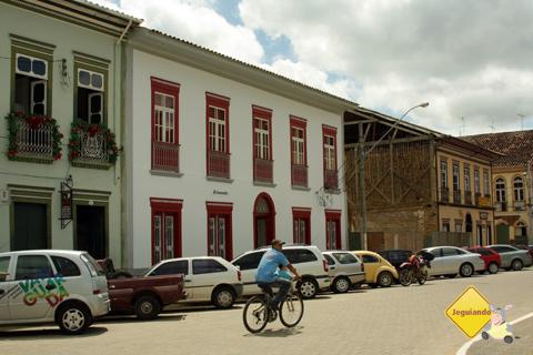 Casarões da Praça da Matriz. São Luiz do Paraitinga, São Paulo. Imagem: Erik Pzado.
