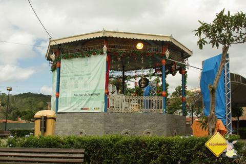 Coreto. Praça da Matriz. São Luiz do Paraitinga. Imagem: Erik Pzado.