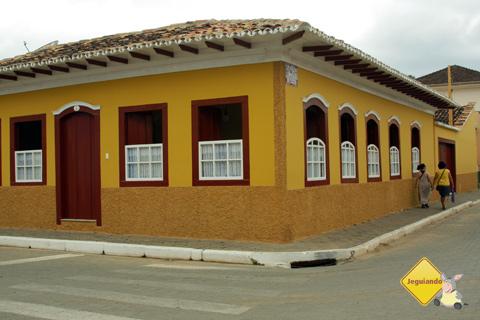 Casarões coloridos são um dos atrativos de São Luiz do Paraitinga. Imagem: Erik Pzado.