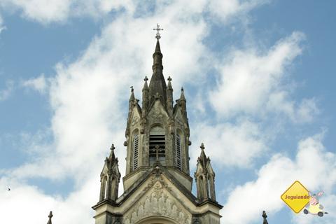 Torre da Igreja do Rosário. São Luiz do Paraitinga, São Paulo. Imagem: Erik Pzado.