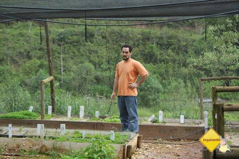 César, responsável pela Fazenda Serra do Vale e nosso anfitrião em visita a São Luiz do Paraitinga. Imagem: Erik Pzado.