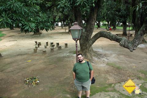 Erik Pzado no Sítio do Picapau Amarelo. Imagem: Janaína Calaça.