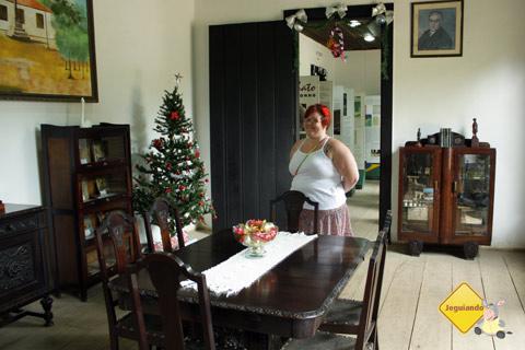 Sala de jantar. Sítio do Picapau Amarelo, Taubaté, São Paulo. Imagem: Erik Pzado.
