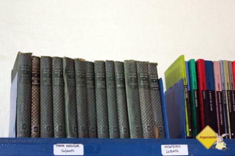 Edição antiga da obra Sítio do Picapau Amarelo. Imagem: Erik Pzado.