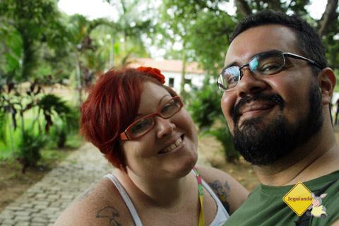 Janaína Calaça e Erik Pzado no Sítio do Picapau Amarelo. Taubaté, São Paulo. Imagem: Erik Pzado.