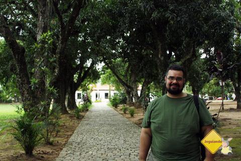 A caminho do sítio! Imagem: Janaína Calaça.