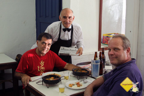 Paulo César e seus clientes