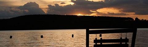 Broa Golf Resort, banhado pela Represa do Broa. Imagem: http://www.broagolfresort.com.br/index.php