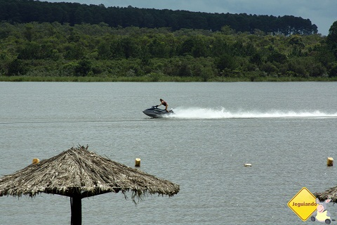Jet Ski. Represa do Broa. Broa Golf Resort, Brotas, SP. Imagem: Erik Pzado.