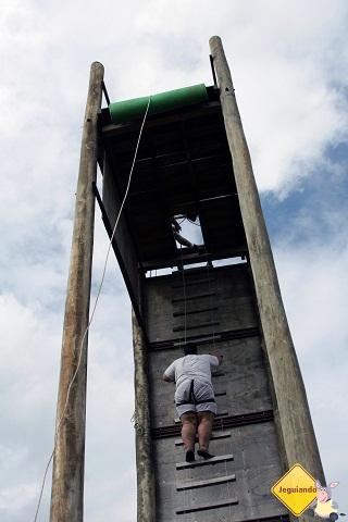 Para o alto e avante! Imagem: Janaína Calaça.