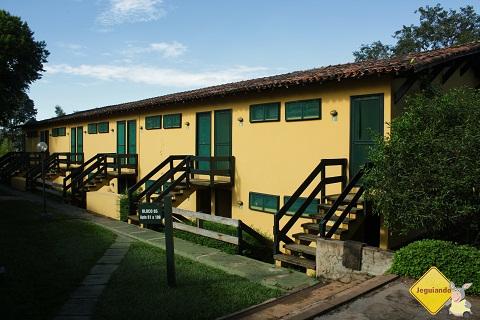 Apartamentos com vista para a represa do Broa. Broa Golf Resort, São Paulo. Imagem: Erik Pzado.