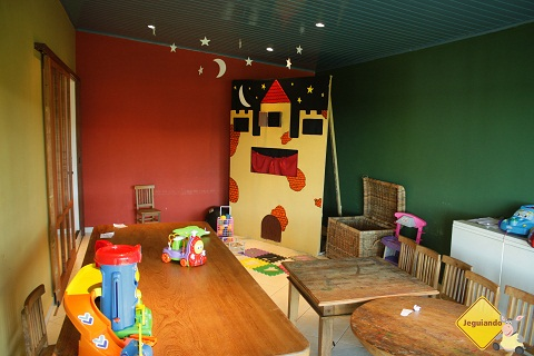 Área de lazer para crianças. Broa Golf Resort, Brotas, SP. Imagem: Erik Pzado.