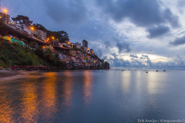 Baía de Todos os Santos. Imagem: Erik Araújo