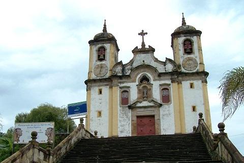 Igreja da Matriz de Santa Ifigênia. Ouro Preto, MG. Imagem: Fábio Brito (Arquivo Jeguiando)