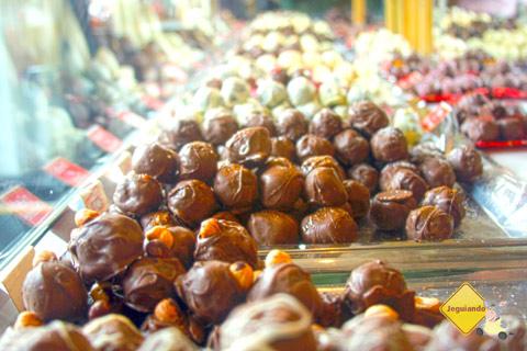 Chocolates em Campos do Jordão, São Paulo. Imagem: Erik Pzado