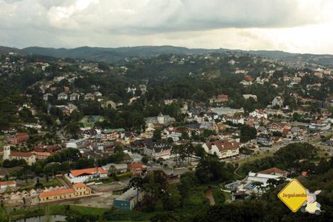 Panorâmica de Campos do Jordão, São Paulo, a partir do Morro do Elefante. Imagem: Erik Pzado