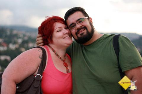 Jana Calaça e Erik Pzado no Morro do Elefante. Campos do Jordão, São Paulo. Imagem: Emilia Nogueira.