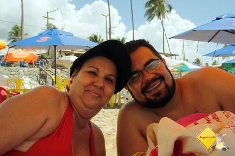 Emilia (mainha) e Erik em Jauá, Bahia. Imagem: Janaína Calaça.