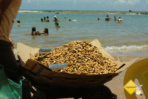 Amendoim cozido. Jauá, Bahia. Imagem: Erik Pzado.