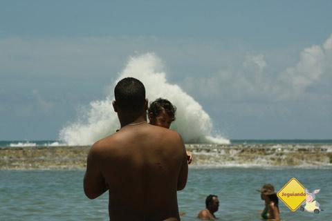 Abençoados pelo mar. Jauá, Bahia. Imagem: Erik Pzado.