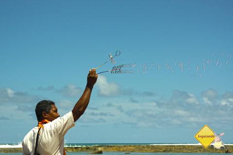 Alegria e simplicidade. Jauá, Bahia. Imagem: Erik Pzado.