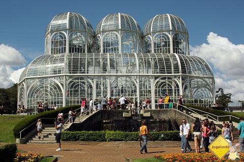 Jardim Botânico, Curitiba, PR. Imagem: Erik Pzado