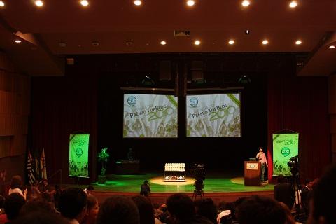 Prêmio Top Blog 2010. Imagem: Erik Pzado