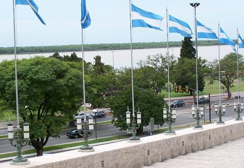 Monumento à bandeira. Rosário, Argentina. Imagem: Fábio Brito (Arquivo Jeguiando)