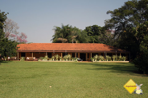 Santa Clara Eco Resort, Dourado, SP. Casarão principal. Imagem: Erik Pzado.