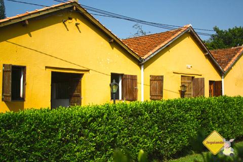 Estábulo. Santa Clara Eco Resort, Dourado, SP. Imagem: Erik Pzado.