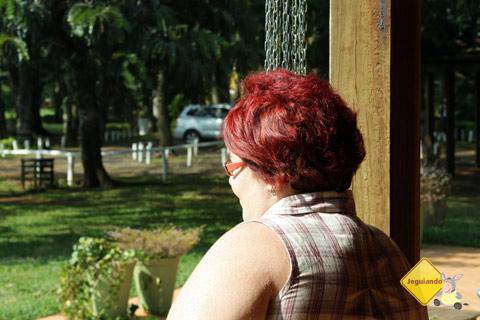 O verde chama os olhos. Santa Clara Eco Resort, Dourado, SP. Imagem: Erik Pzado.