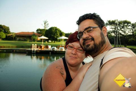 Jana Calaça e Erik Pzado no Santa Clara Eco Resort, Dourado, SP. Imagem: Erik Pzado