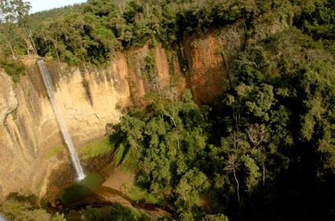 Cachoeira do Saltão. Imagem: Divulgação http://www.saltao.com.br
