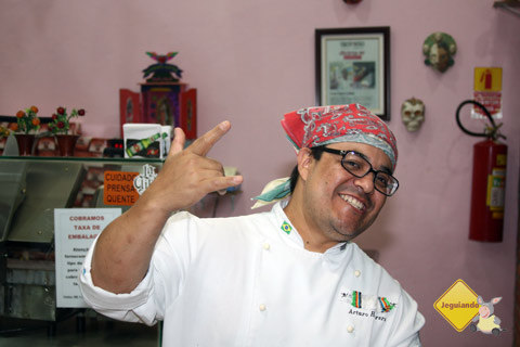 Arturo Herrera, chef do La Buena Onda. Imagem: Erik Pzado