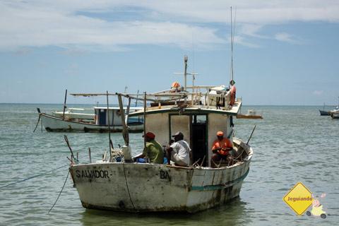 """""""Navegar é preciso..."""" Praia do Forte, Bahia. Imagem: Erik Pzado"""