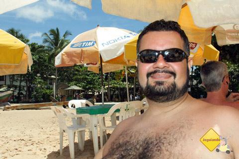 Erik na Praia do Forte, Litoral Norte da Bahia. Imagem: Janaína Calaça