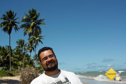 Erik Pzado em Itacimirim, Litoral Norte da Bahia. Imagem: Janaína Calaça