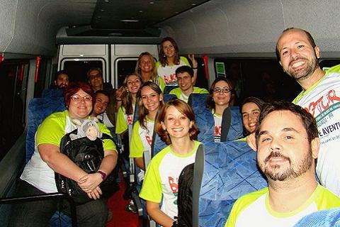 Blogueiros participantes do BlogTurFoz. Imagem: Maurício Oliveira