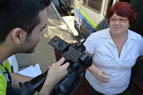 Garon tentando me acordar no susto, ops, com a entrevista! Imagem: Equipe Loumar Turismo