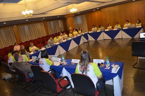 Blogueiros reunidos para dar início às atividades do Blog Tur Foz. Imagem: Maurício Oliveira