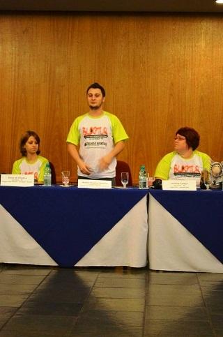 Momento da apresentação de cada participante do Blog Tur Foz. Imagem: Equipe Loumar Turismo