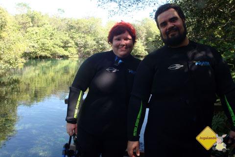 Jana Calaça e Erik Pzado de volta ao Rio da Prata, Jardim, MS.