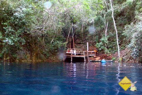 Lagoa Misteriosa, Jardim, MS. Imagem: Erik Pzado