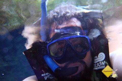 Erik Pzado na Lagoa Misteriosa. Imagem: Erik Pzado
