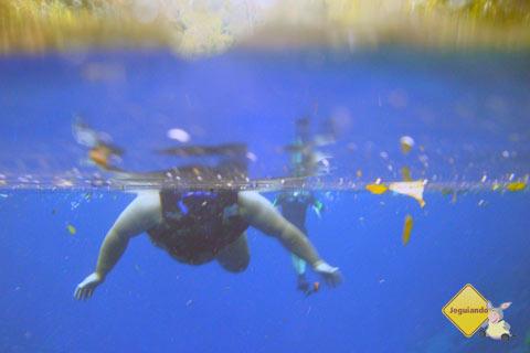 Erik Pzado na Lagoa Misteriosa. Imagem: Janaína Calaça