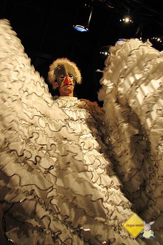 Peru representado no show latino-americano do Rafain. Imagem: Janaína Calaça