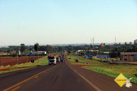 Na estrada. De Campo Grande a Bonito. Imagem: Erik Pzado