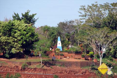 Marco argentino. Foz do Iguaçu, PR. Imagem: Janaína Calaça